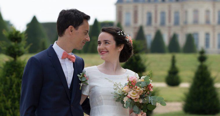 """Mon mariage civil estival en Ile-de-France : """"Mariés, enfilez vos tenues et… souriez !"""""""