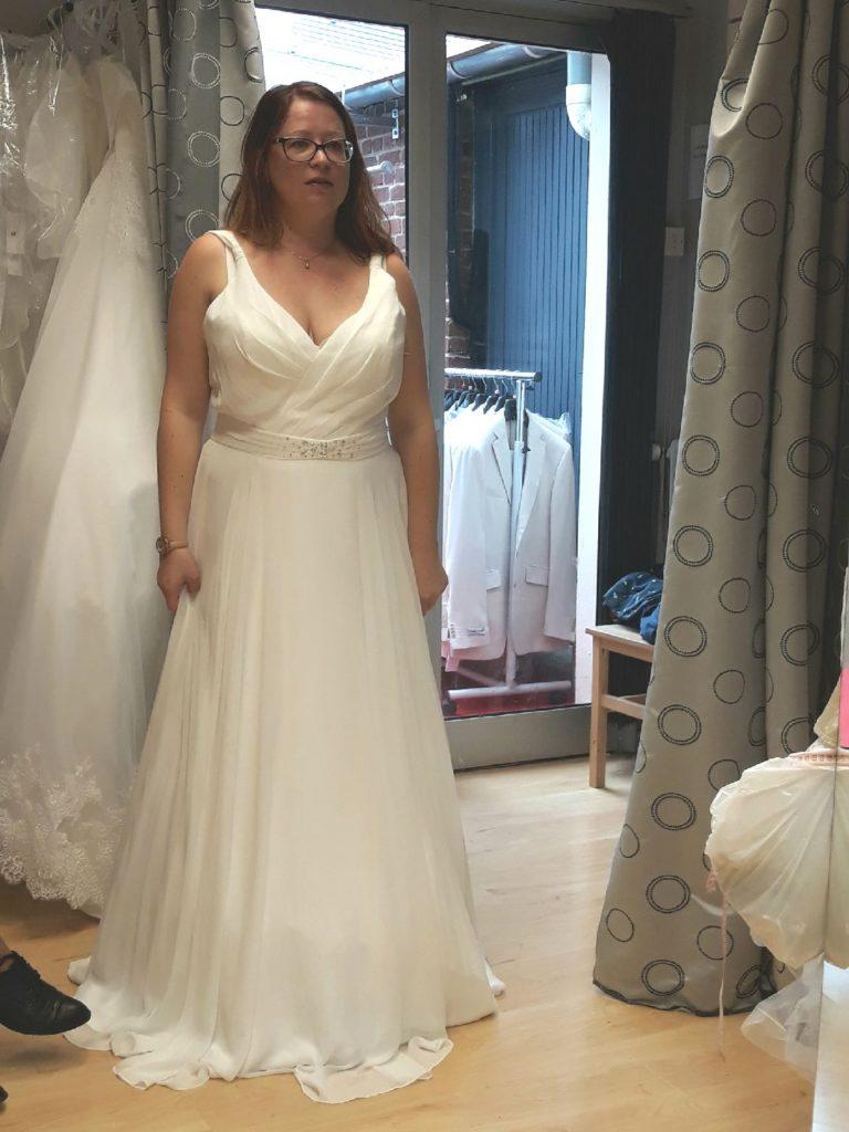 Les recherches de ma robe de mariée, avec un petit budget