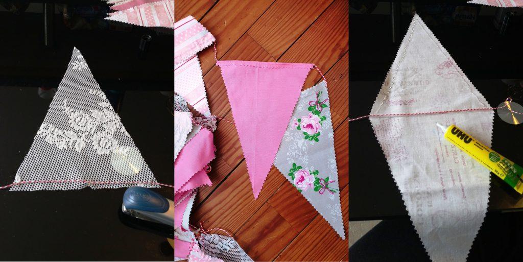 Tutoriel DIY facile : des fanions pour ton mariage
