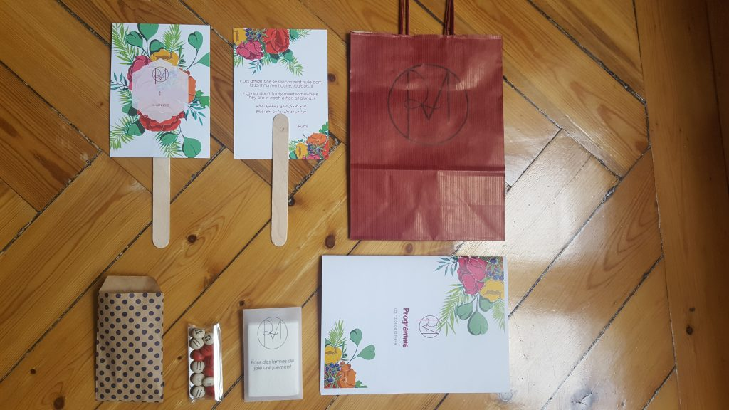 Nos welcome bags personnalisés