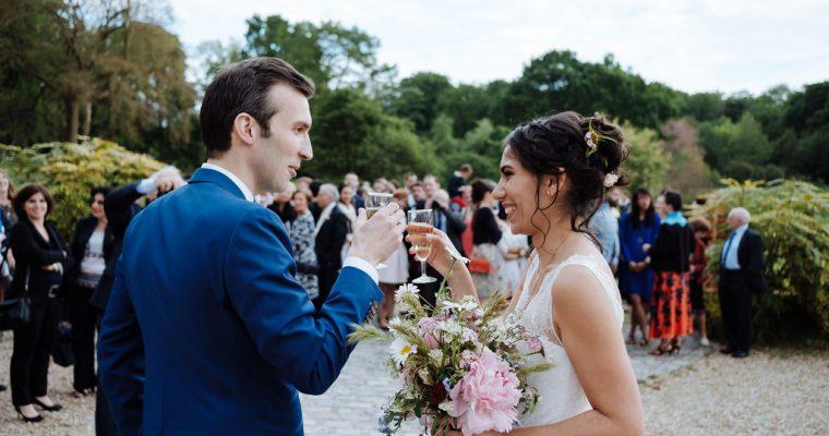 Mon mariage green et romantique : le vin d'honneur, le bouquet et les jeux