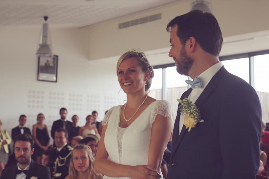 Notre cérémonie à la mairie // Photo : Cécile Picard