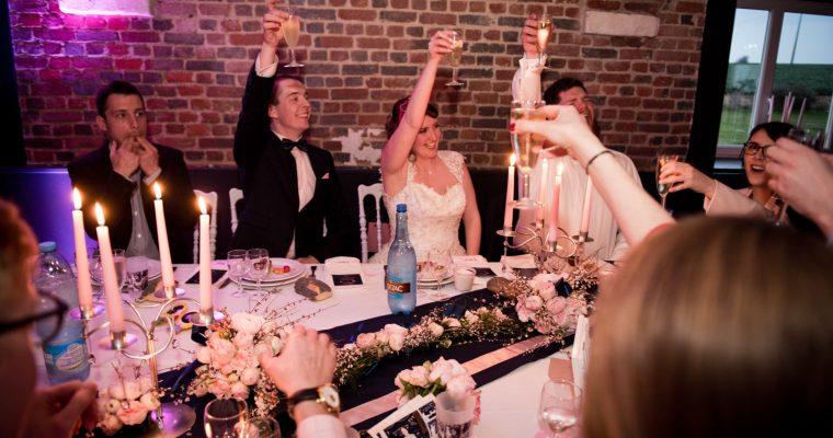 Mon mariage printanier-chic tout en émotions : notre entrée dans la salle (vidéo inside !)