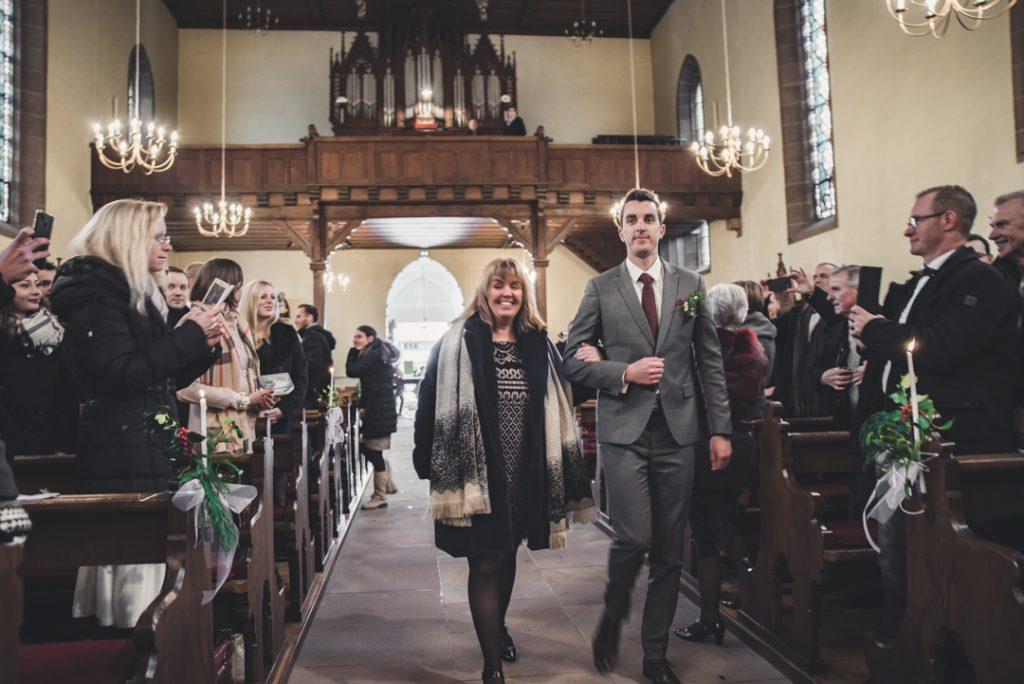 Récit de notre jolie cérémonie religieuse en plein hiver // Photo : Pauline Kupper
