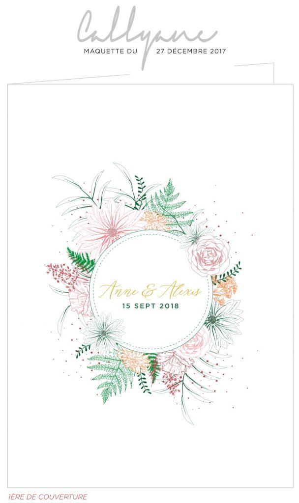 Faire appel à une calligraphiste : nos faire-part de mariage par Callyane