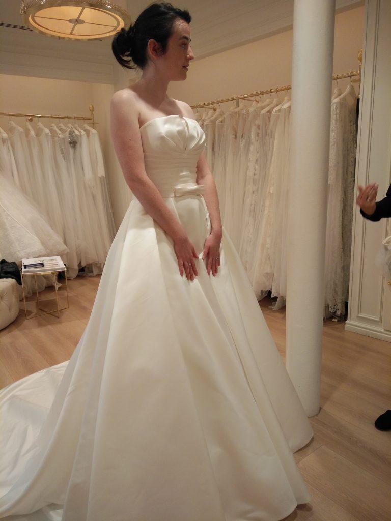 Mes essais de robes de mariée