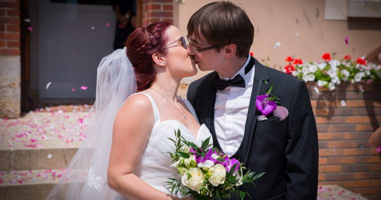 Le joli mariage geek d'Estelle