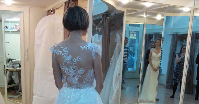 Ma robe de mariée : la choisir… et la coudre ?!