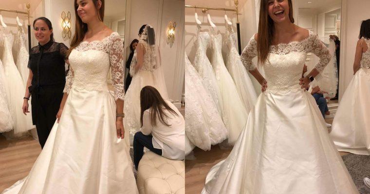 Comment trouver sa robe de mariée un peu trop rapidement et finir avec trois robes… – Partie 2