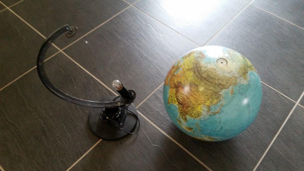 Tutoriel DIY : un globe aux couleurs du mariage