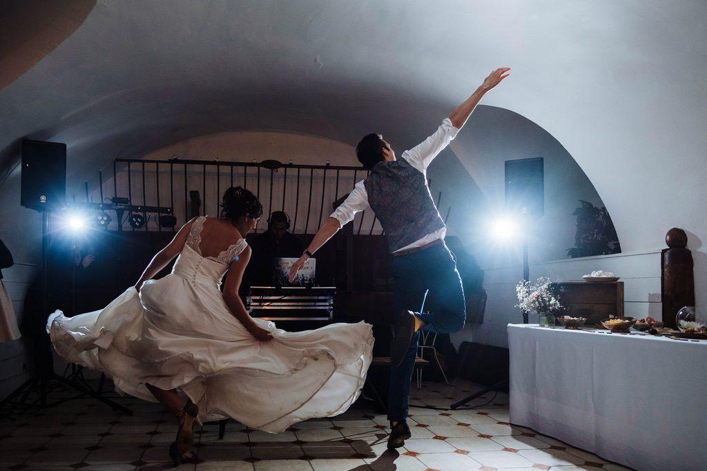 Ouverture du bal sur la musique de La La Land // Photo : Nicolas Grout