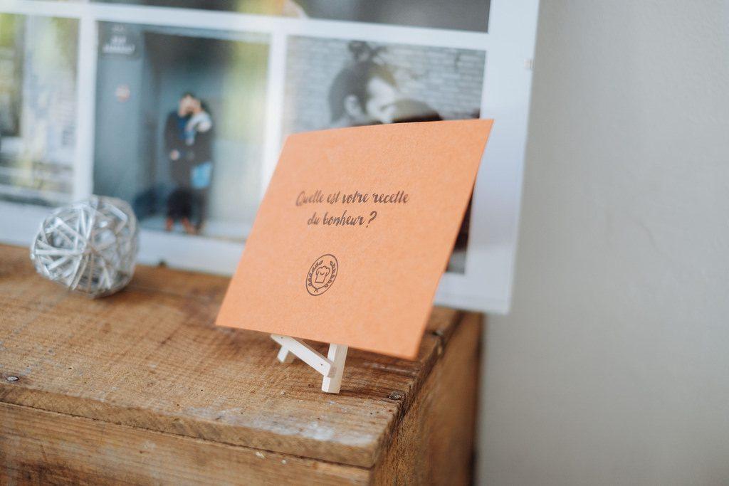 Décoration dans des tons natures pour le mariage // Photo : Nicolas Grout