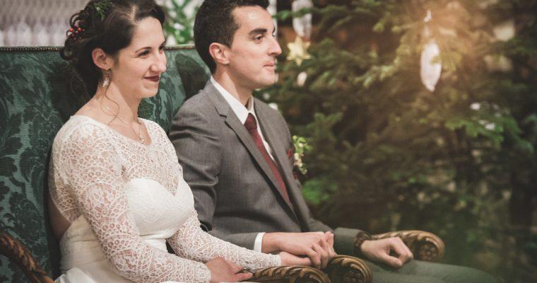 Mon chaleureux mariage enneigé : la cérémonie religieuse – Partie 1