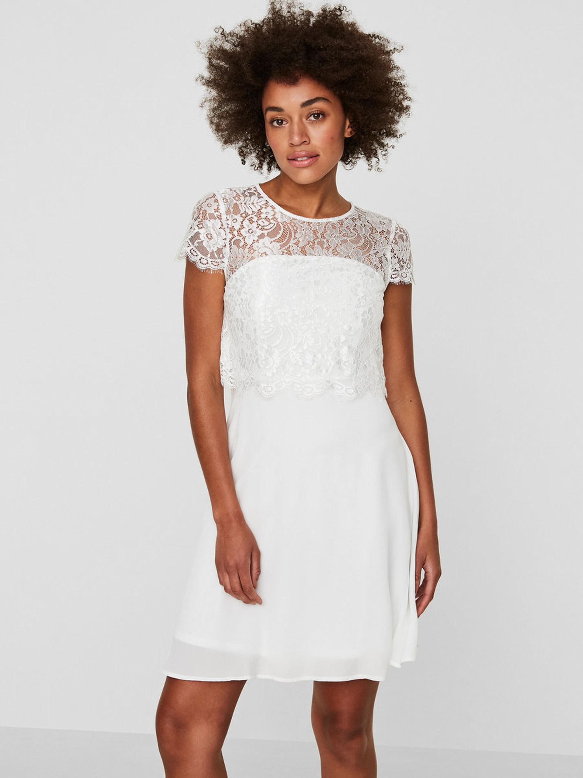 Lace MdVestido Veromoda blanco de Mademoiselle novia W9ED2YHI
