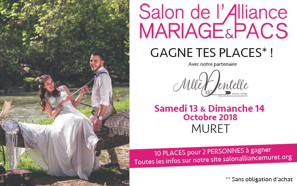 Salon de l'Alliance, Mariage et Pacs - Muret (31) (avec ton invitation à gagner !)