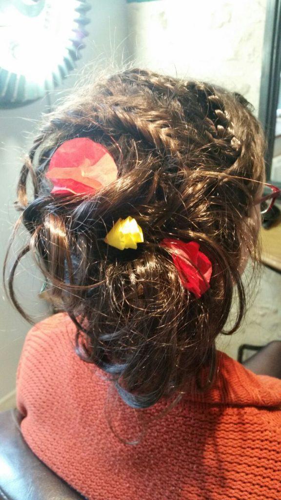 Mes essais coiffure pour le mariage