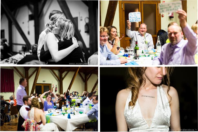 Les animations de la soirée du mariage // Photo : Mélanie Reichhart photographe