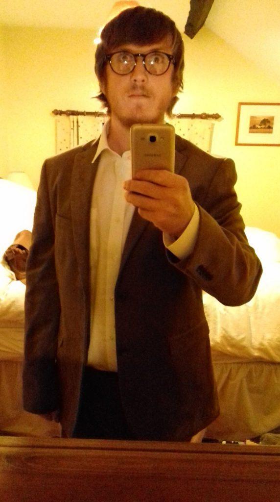 Un costume en velours pour le marié !