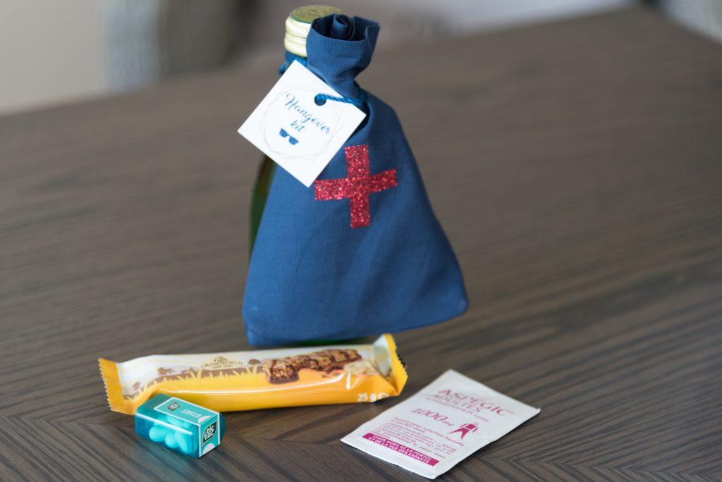 Kit de survie DIY pour les invités