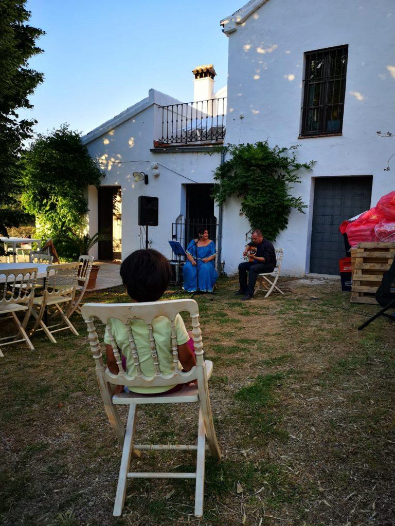 Une soirée espagnole la veille du mariage