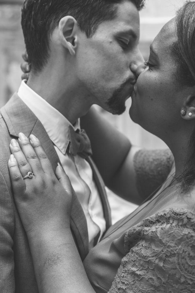 Notre séance d'engagement à quelques jours du mariage