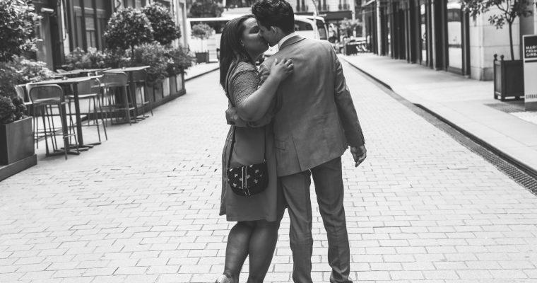 Mon lumineux mariage d'été entre passion et émotion : la love session