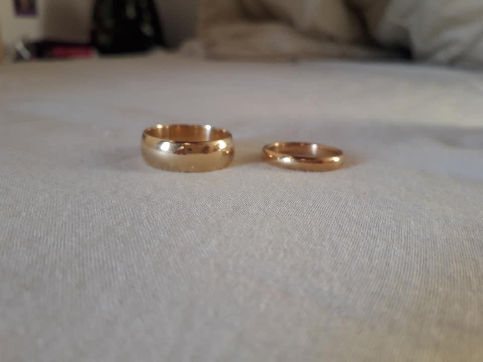 Avoir les alliances de nos grands-parents pour le mariage