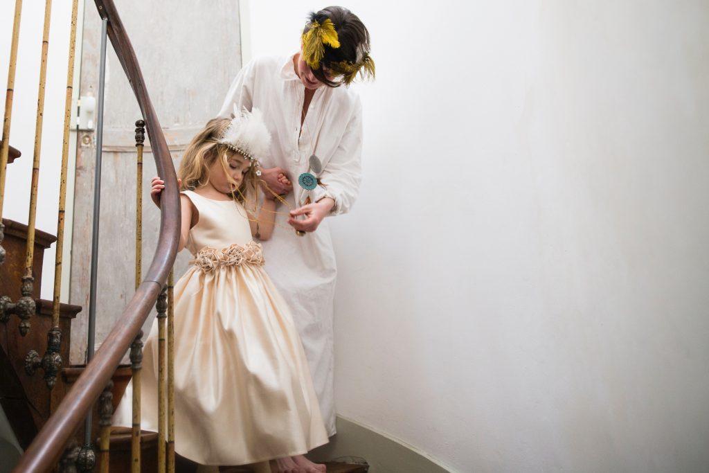 comment gérer ses enfants lors de son mariage ?