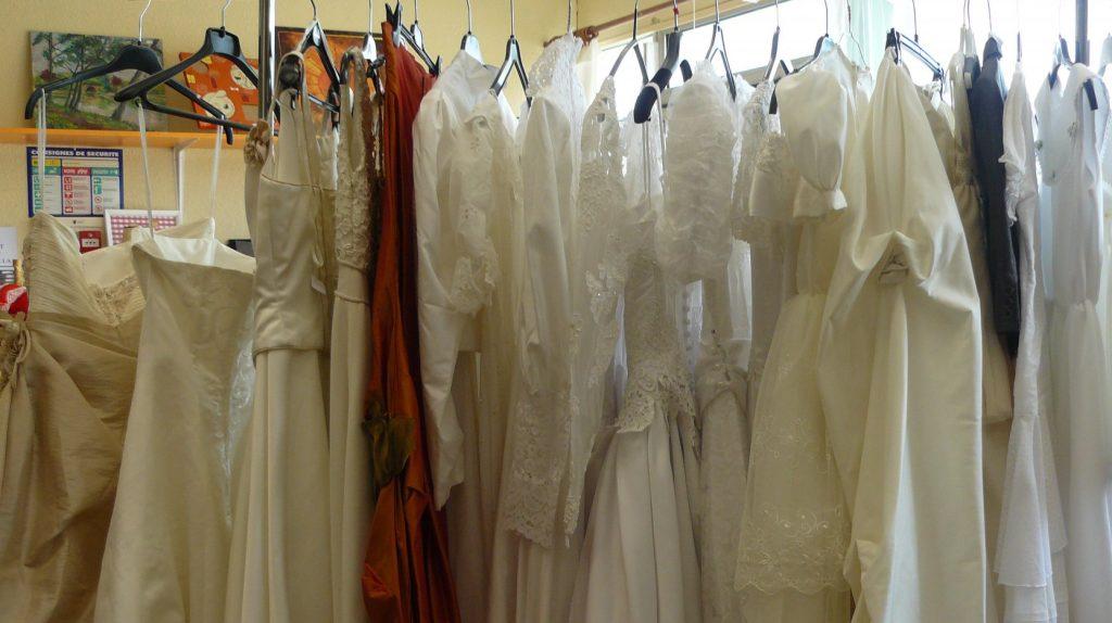 Acheter une robe de mariée d'occasion