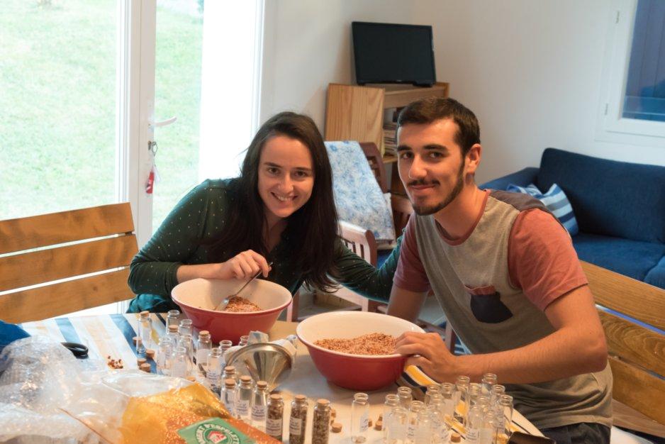 Cadeaux d'invités DIY : fleur de sel au piment d'Espelette