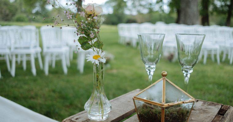 Mon mariage green et romantique : un mariage presque zéro-déchet