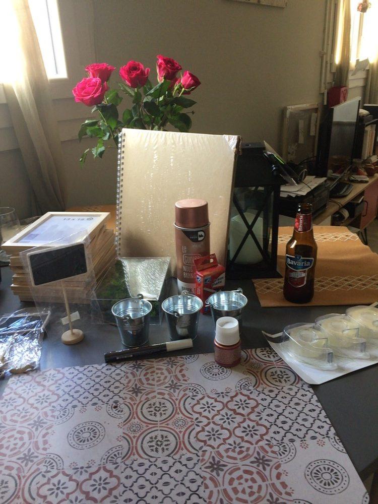 La déco DIY du mariage : le matériel