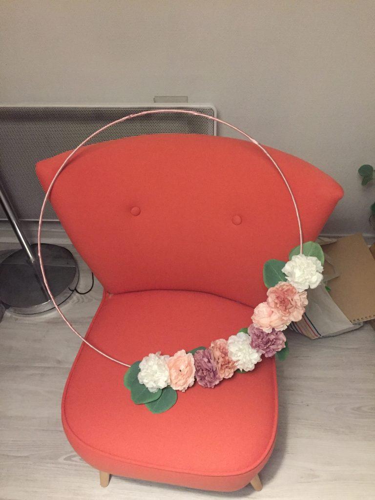 La déco DIY du mariage : le cadre du photobooth