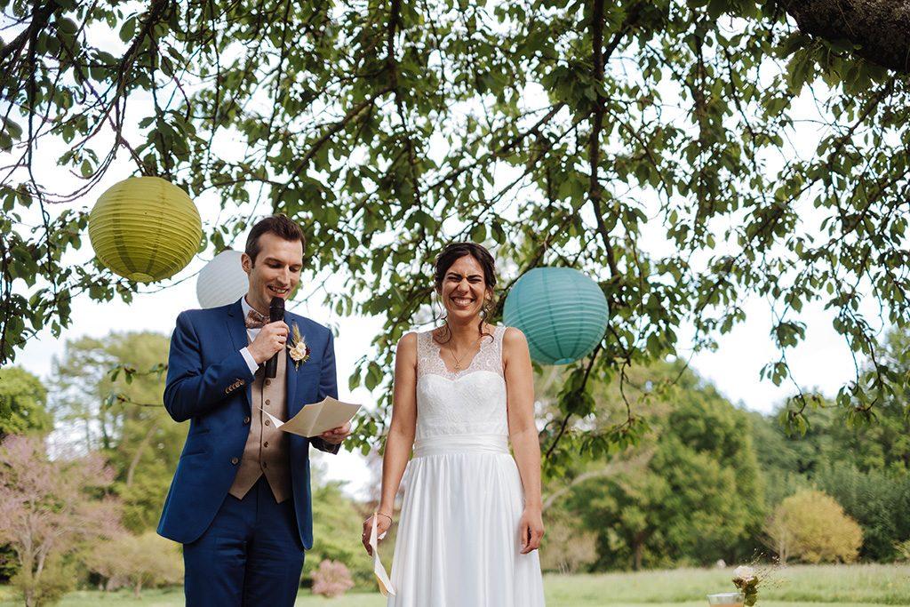 Bilan et remerciements de mon mariage green // Photo : Nicolas Grout