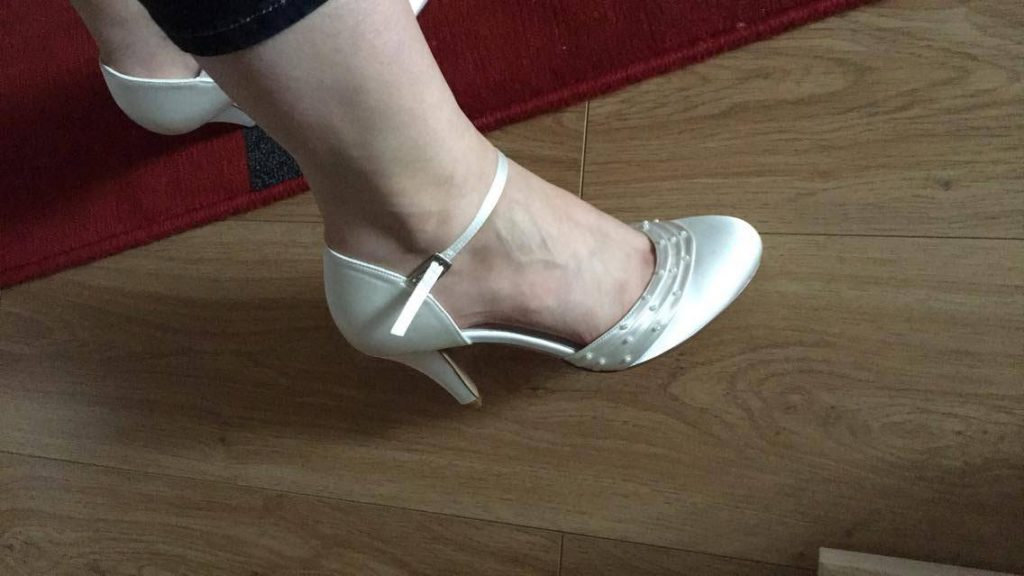 Trouver mes chaussures de mariée