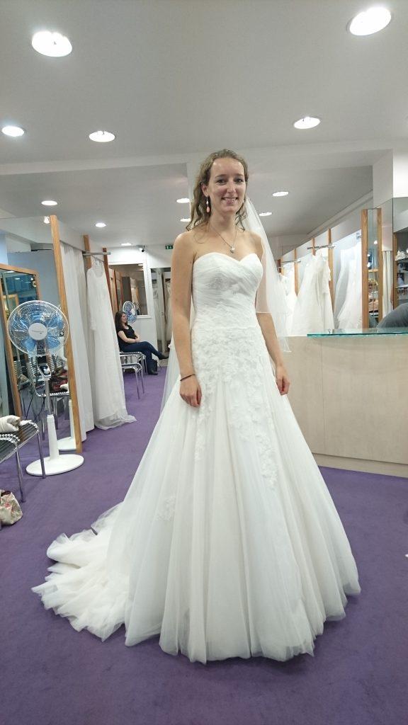 Mes essayages de robes de mariée à Versailles
