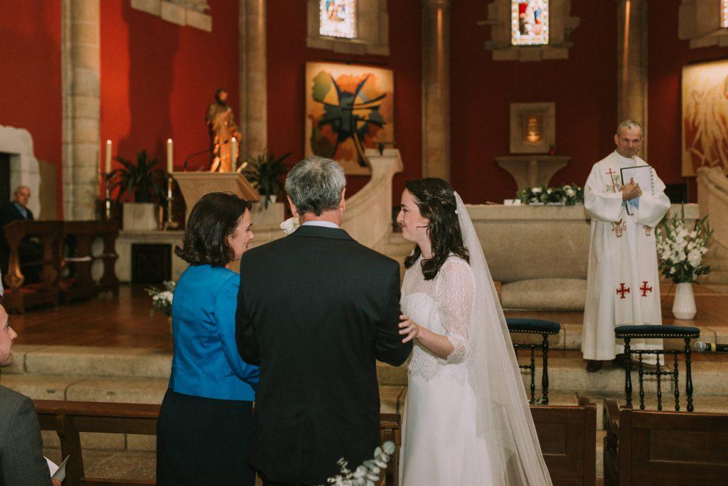 L'entrée et le début de notre cérémonie religieuse // Photo : Sara Cuadrado