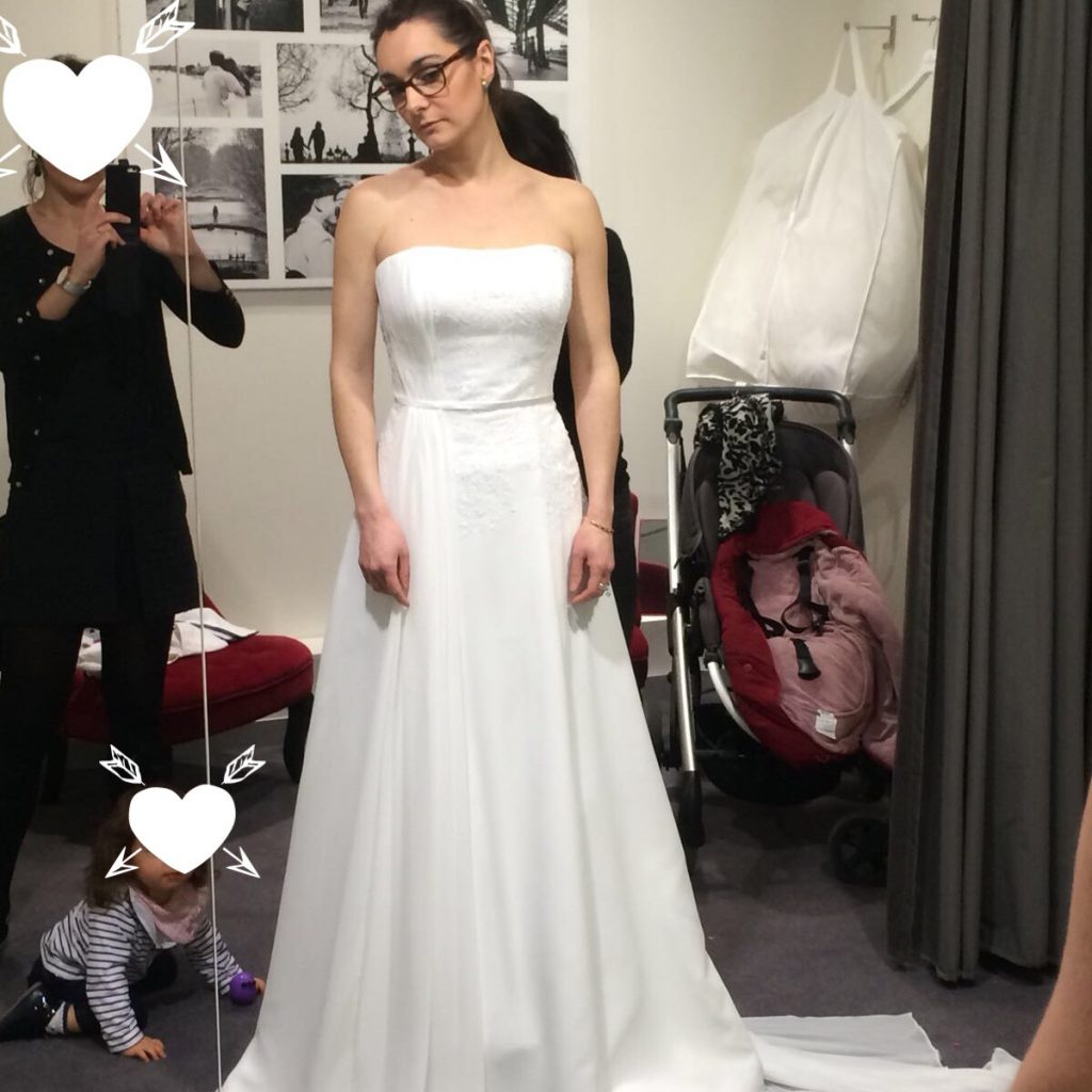 Mes essayages de robes de mariée à Lille