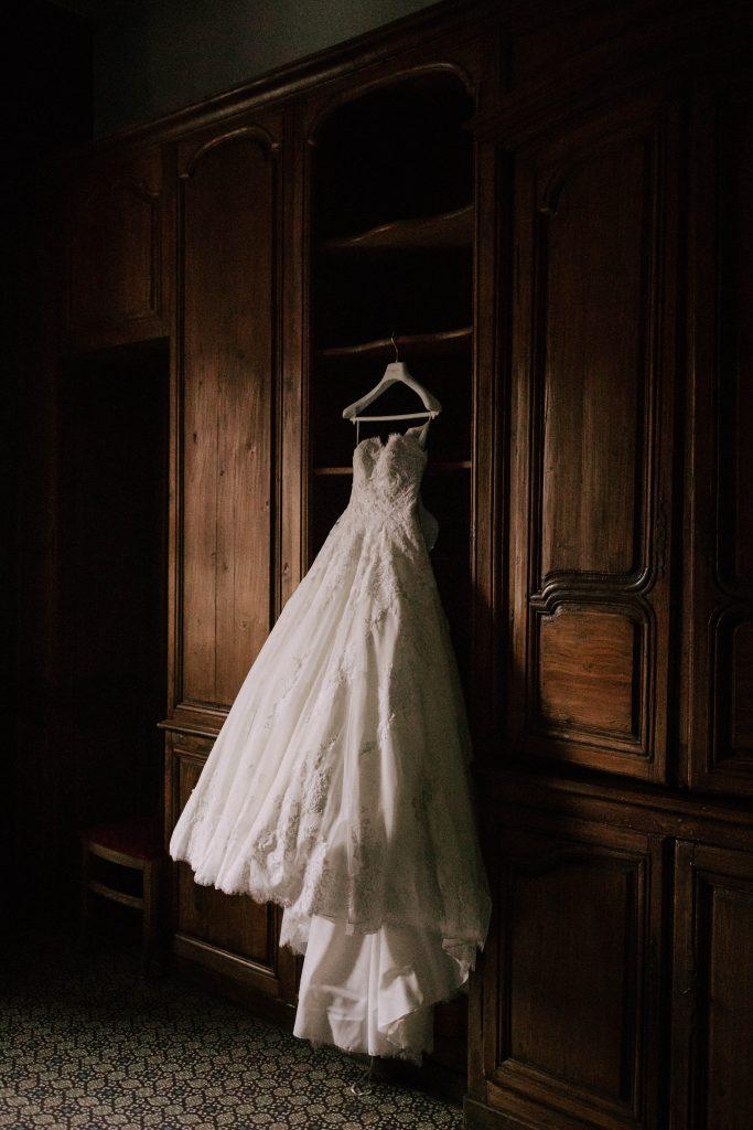 Coup de coeur pour ma robe de mariée ! // Photo : La Cabine de Margaux