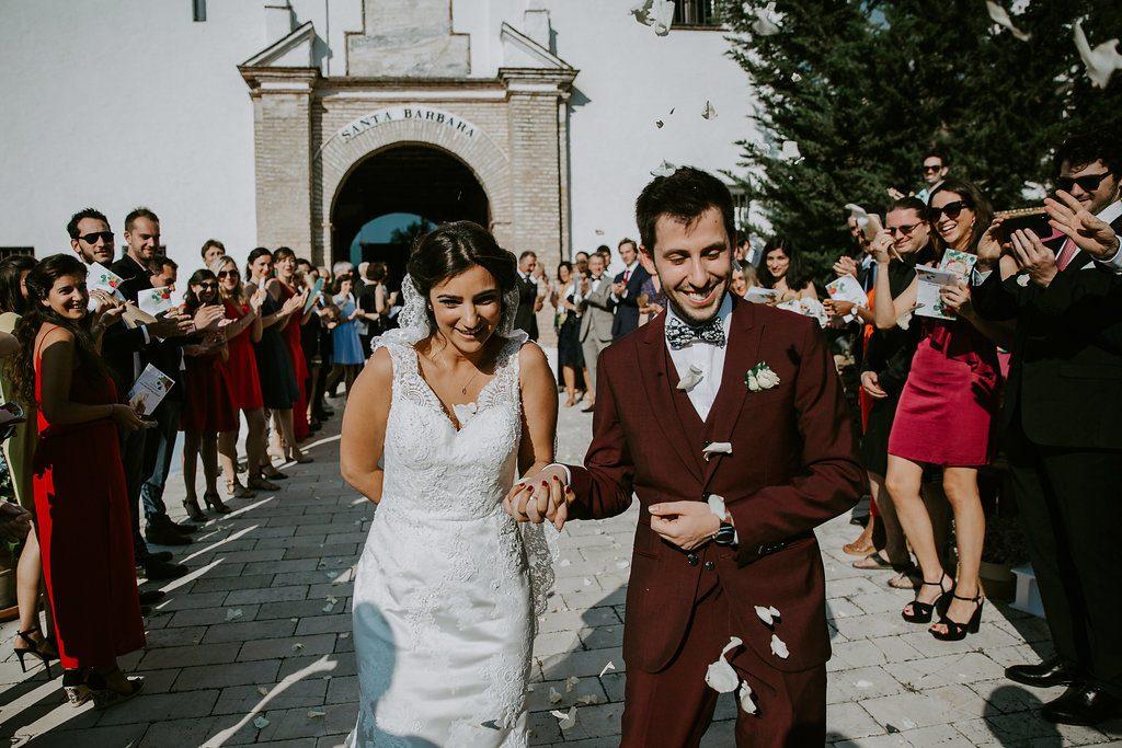 Nos échanges de voeux et la fin de notre cérémonie d'engagement // Photo : Les Récits de Becca