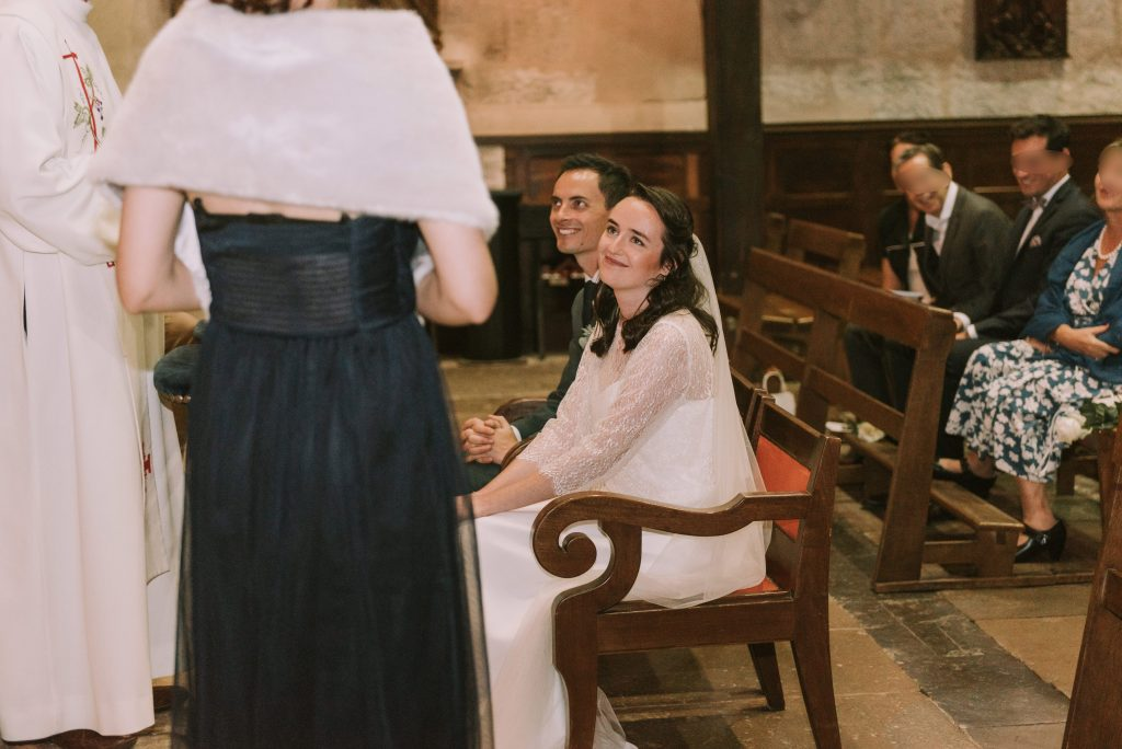 Déroulé, textes choisis et sortie de notre cérémonie religieuse // Photo : Sara Cuadrado
