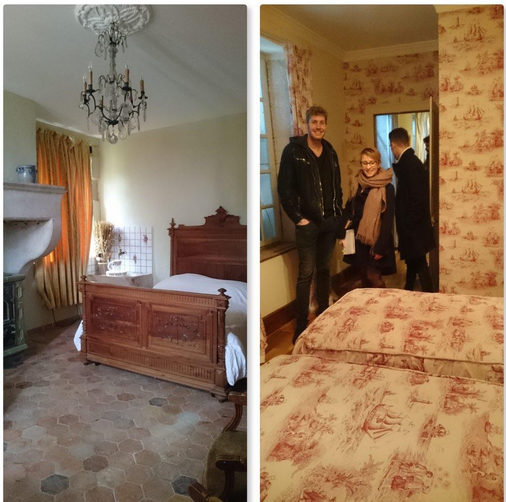 Notre recherche de salle pour le mariage : le château de Boucq.