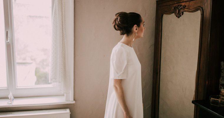 À la recherche d'une robe pour la cérémonie civile