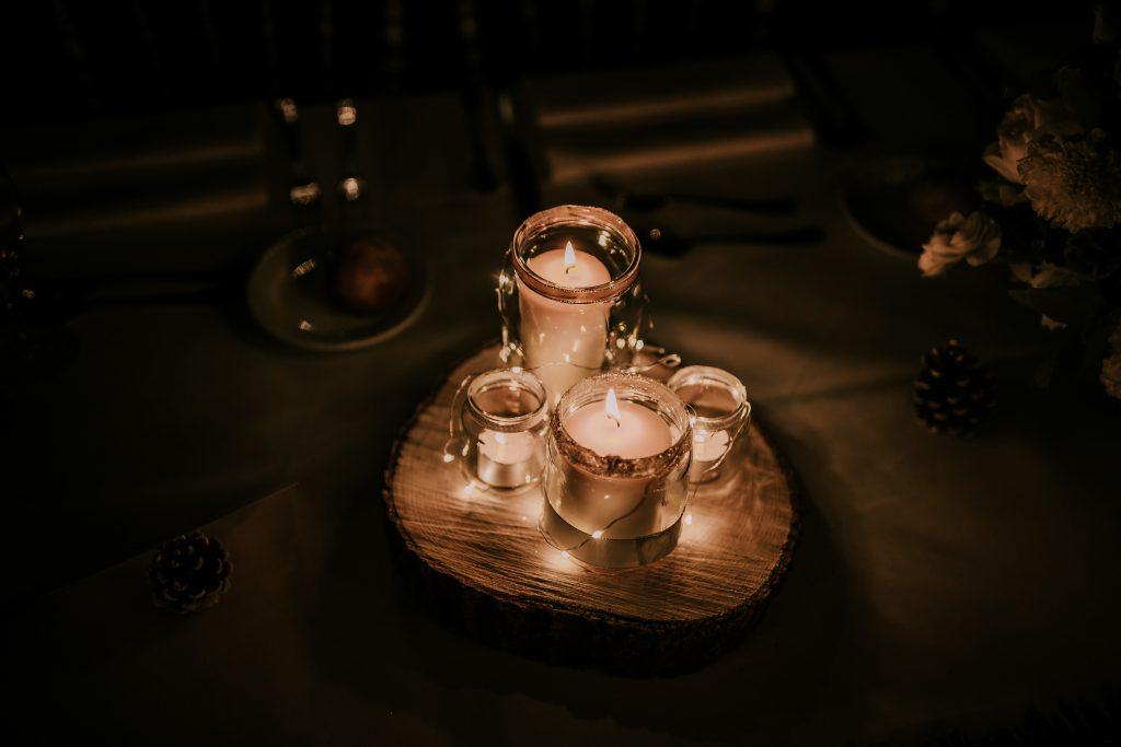 Les DIY de mon mariage : les centres de tables // Photo : La Cabine de Margaux