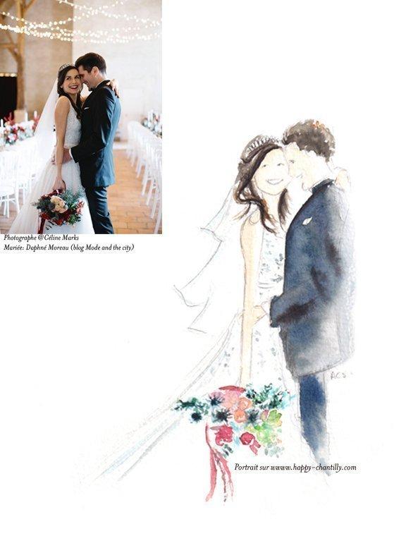 Concours : gagne les faire-part de ton mariage avec Happy Chantilly sur Mademoiselle Dentelle