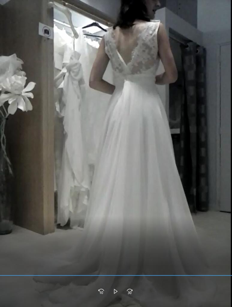 Les essais pour trouver ma robe de mariée