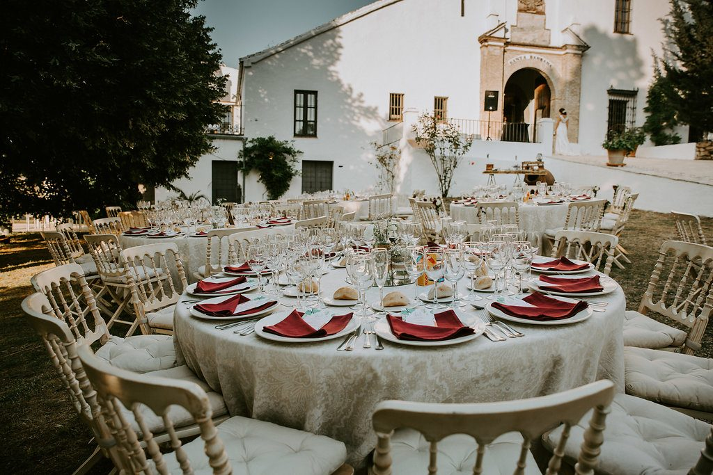Notre dîner de mariage ponctué de surprises // Photo : Les Récits de Becca