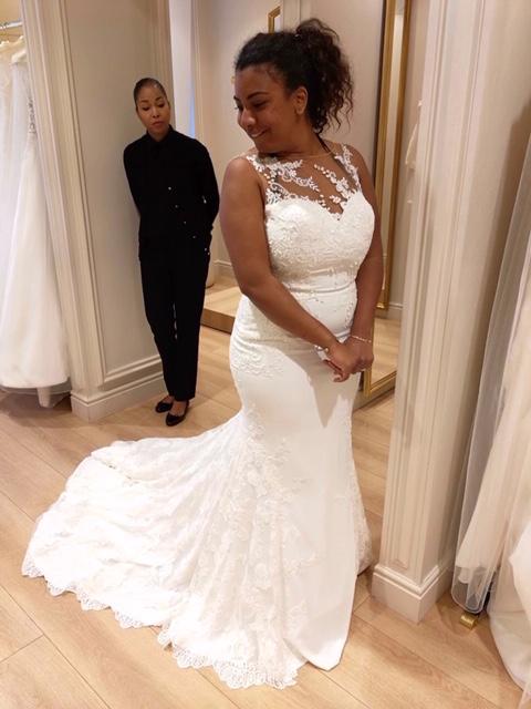 Mes recherches pour une robe de mariée fourreau ou sirène