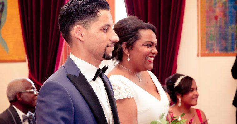 Mon lumineux mariage d'été entre passion et émotion : la cérémonie civile