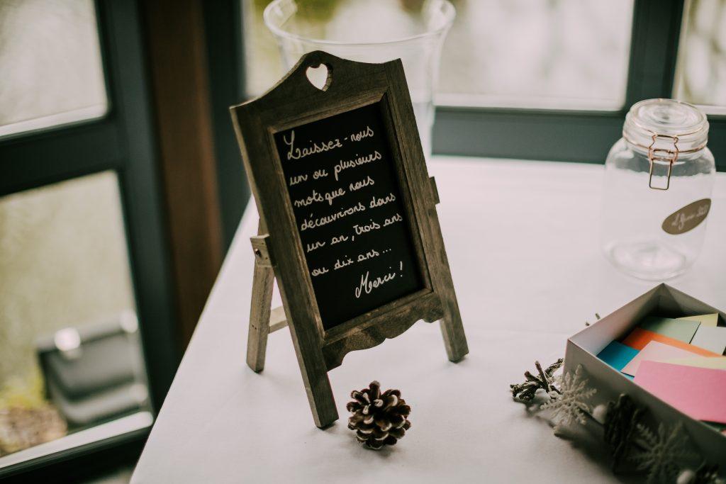 Livre d'or de mon mariage ch'ti // Photo : La Cabine de Margaux